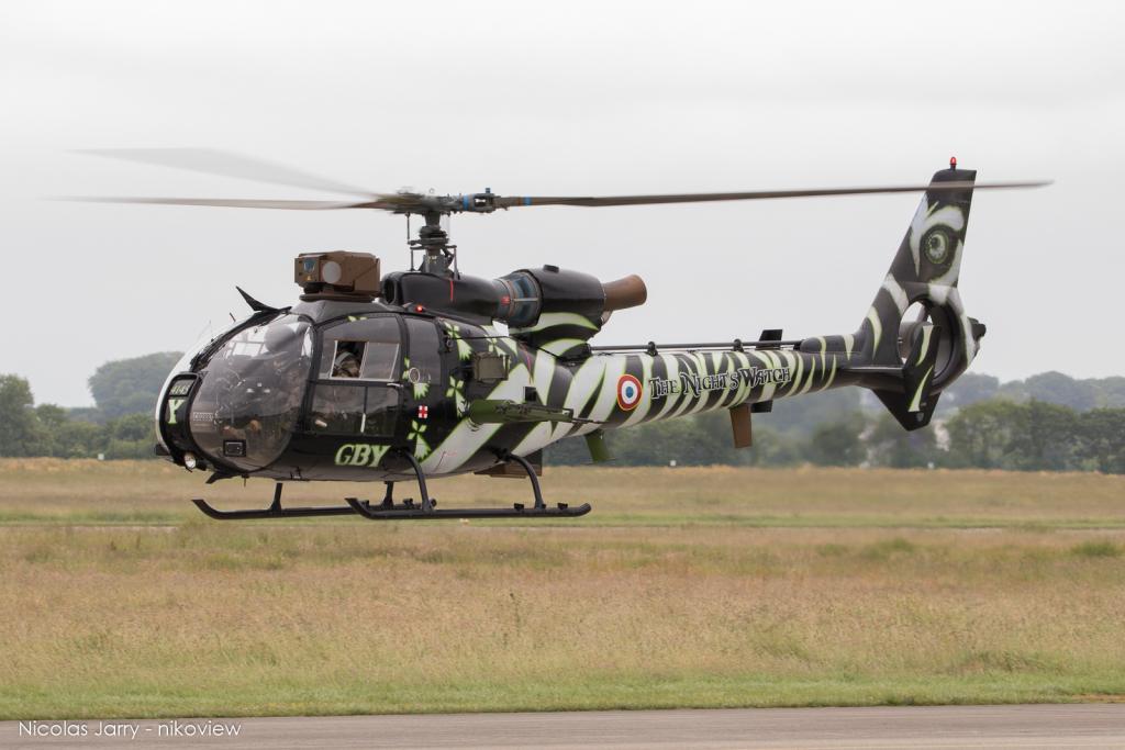 SA-342M Gazelle - Aviation Légère de l'Armée de Terre - Franc