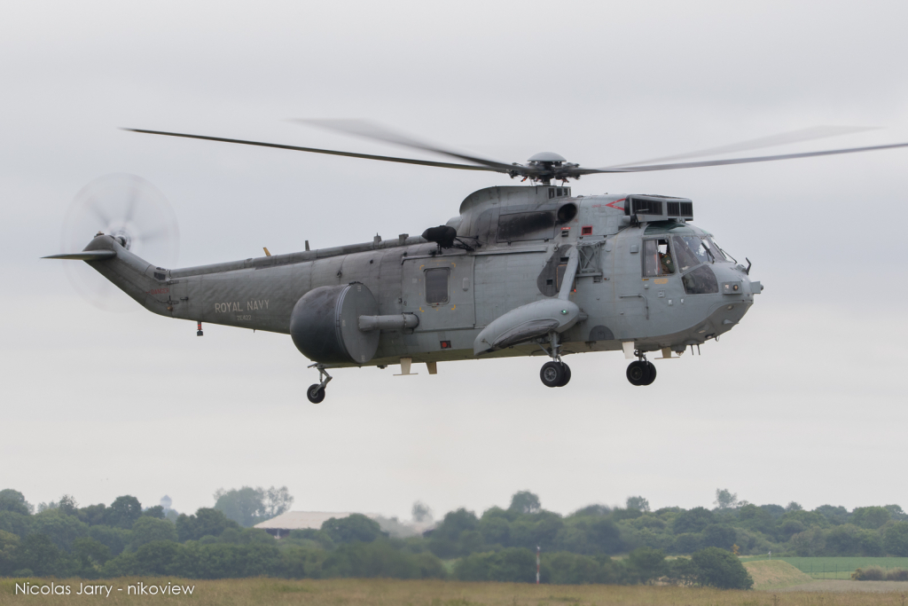 Sea King ASaC7 - Royal Navy - Royaume-Uni