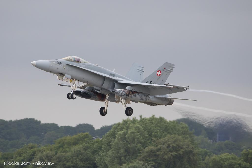 F/A-18C Hornet - Armée de l'air - Suisse