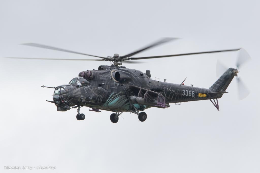 Mi-35 Hind - Vzdušné síly armády České republiky - Czech A