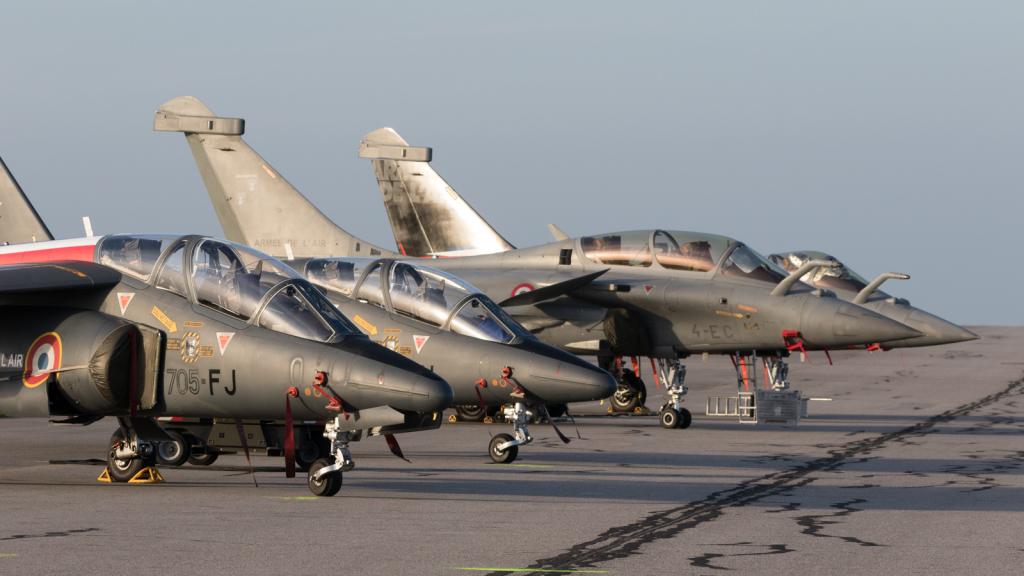 Alphajet E + Rafale B et C - Armée de l'air - France